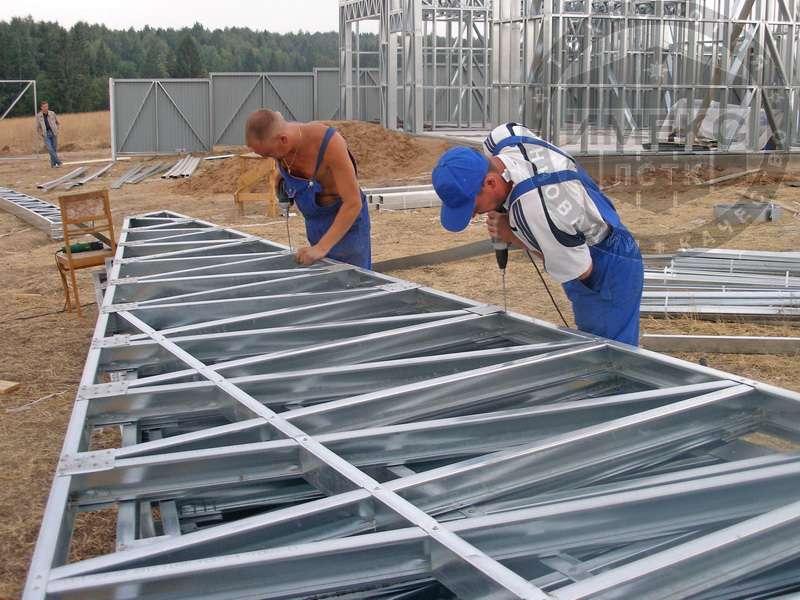 Строительство домов из лстк своими руками